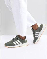 Flashback Adidas Originals en coloris Green