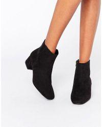 ASOS Black Afira Ankle Boots