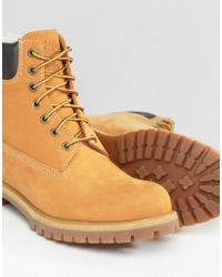 Timberland Brown Classic Faux Shearling Premium Boots