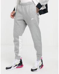 Nike Trainingspak Met Kleurvlakken in het Gray voor heren