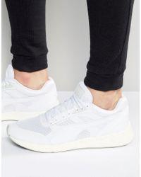 PUMA White 698 Ignite Sneakers for men