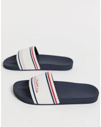 Rider R86 - Energy - Slippers In Wit/marineblauw in het Blue voor heren