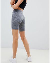 Short legging effet chiné ASOS en coloris Gray