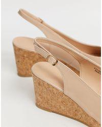 Extra wide fit - Sandales à brides Simply Be en coloris Metallic