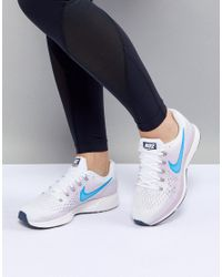 Nike Air Zoom Pegasus Trainers In White