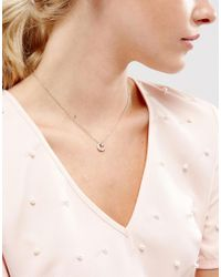 Skinnydip London - Metallic Moon And Stars Silver Necklace - Lyst