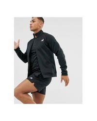 Running - Tenacity - Top sportivo nero di New Balance in Black da Uomo
