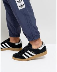 Adidas Originals Munchen Trainers In Black By9790 for men