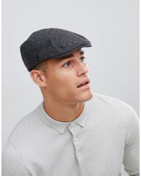 ffb3d9be044 French Connection Benjamin Flat Cap for Men - Lyst
