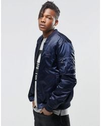 official images amazon innovative design adidas Originals Synthetic Superstar Ma1 Bomber Jacket ...