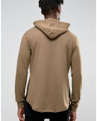 Criminal Damage | Multicolor Hoodie With Raw Hem for Men | Lyst
