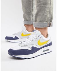 Air Max 1 Nike pour homme en coloris Blanc - Lyst