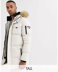 Parka style doudoune avec capuche en fausse fourrure Good For Nothing pour homme en coloris Natural