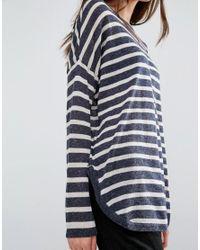 Vero Moda Blue Stripe Jumper