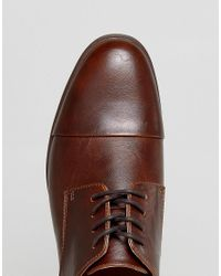 Call It Spring Huttner Toe Cap Shoes In Brown for men