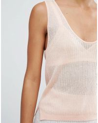 Micha Lounge Multicolor Knitted Cami Top