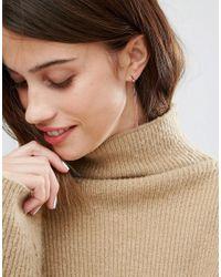 SELECTED - Metallic Femme Beary Dangle Earrings - Lyst