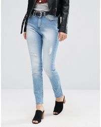 Cheap Monday | Blue Donna Boyfriend Jeans L32 | Lyst