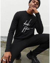 Camiseta ASOS de hombre de color Black