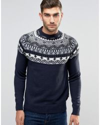 Fairisle Christmas Jumper - Navy French Connection Lowest Price Cheap Price Outlet Pictures 8tythH01
