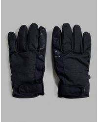 81ba2184a018 DC Shoes Snow Deadeye Gloves In Black in Black for Men - Lyst