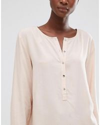 B.Young Pink Hally Rose Dust Blouse