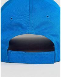 PUMA - Blue Script Snapback Golf Hat for Men - Lyst