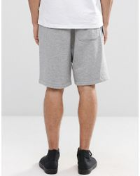 Converse - Gray Core Shorts In Grey 10002136-a01 for Men - Lyst
