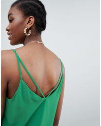 Top de tirantes New Look de color Green
