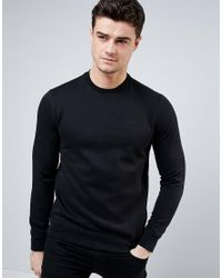 Armani Jeans | Sweatshirt With Logo In Black for Men | Lyst