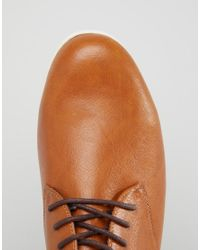 ALDO - Brown Aauwen Laceup Plimolls for Men - Lyst