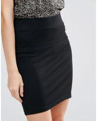 Minimum Black Saseline Mini Skirt