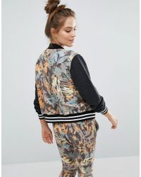 Sol Angeles - Multicolor Camo Bomber Jacket - Lyst