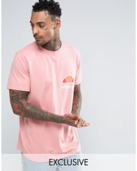 Ombre T-Shirt In Pink - Pink Ellesse Clearance New Arrival Clearance Cost Sale Best Store To Get Clearance Enjoy Cheap Sale With Mastercard fUB1hRlwjl