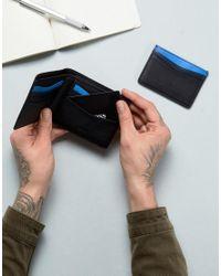 BOSS - Leather Wallet & Card Holder Gift Set In Black for Men - Lyst