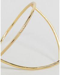Cheap Monday - Metallic Outline Bracelet - Lyst