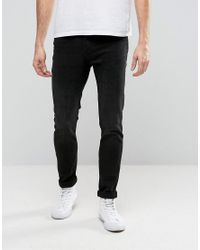 Cheap Monday | Tight Skinny Jeans In Black Haze for Men | Lyst