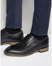 Frank Wright - Merton Oxford Shoes In Black Leather - Black for Men - Lyst