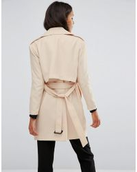 Vero Moda - Natural Trenchcoat - Lyst