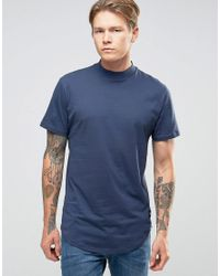 Only & Sons Blue T-shirt for men