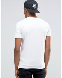New Look Muscle T-shirt In White for men