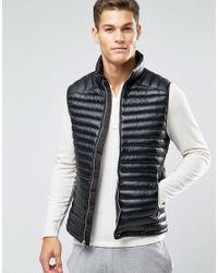 abercrombie and fitch gilet mens