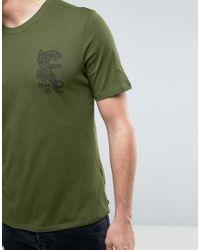 Nike Jaguar Print T-shirt In Green 833640-331 for men