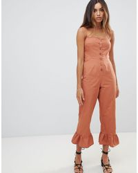 Mono largo ASOS de color Orange