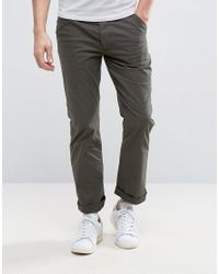 French Connection | Green Stretch Skinny Chino for Men | Lyst