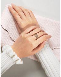 Nylon Metallic Etched Detail Ring