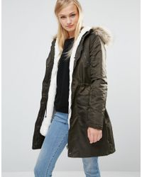 1f30684b4be0 Oasis Asis Diana Detachable Lining Parka - Lyst