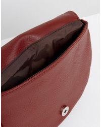 Matt & Nat - Saddle Bag In Deep Red - Lyst