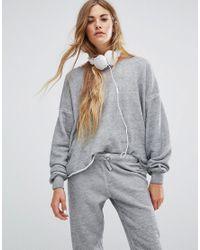 Wildfox Gray 5am Sweatshirt