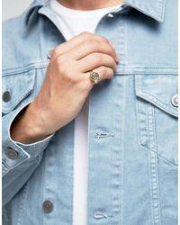 Love Bullets | Metallic Lovebullets Simple Bullet Ring In Gold for Men | Lyst
